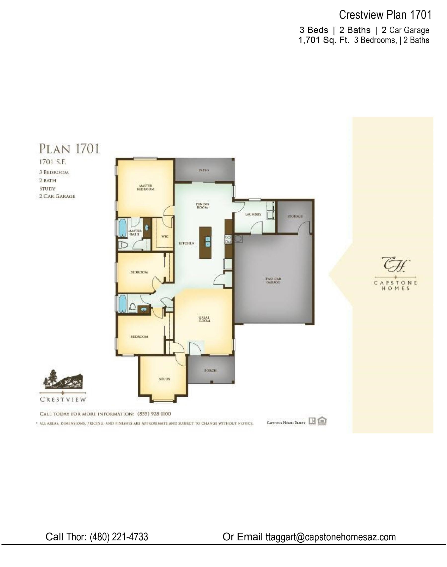 Crestview 1701 Plan