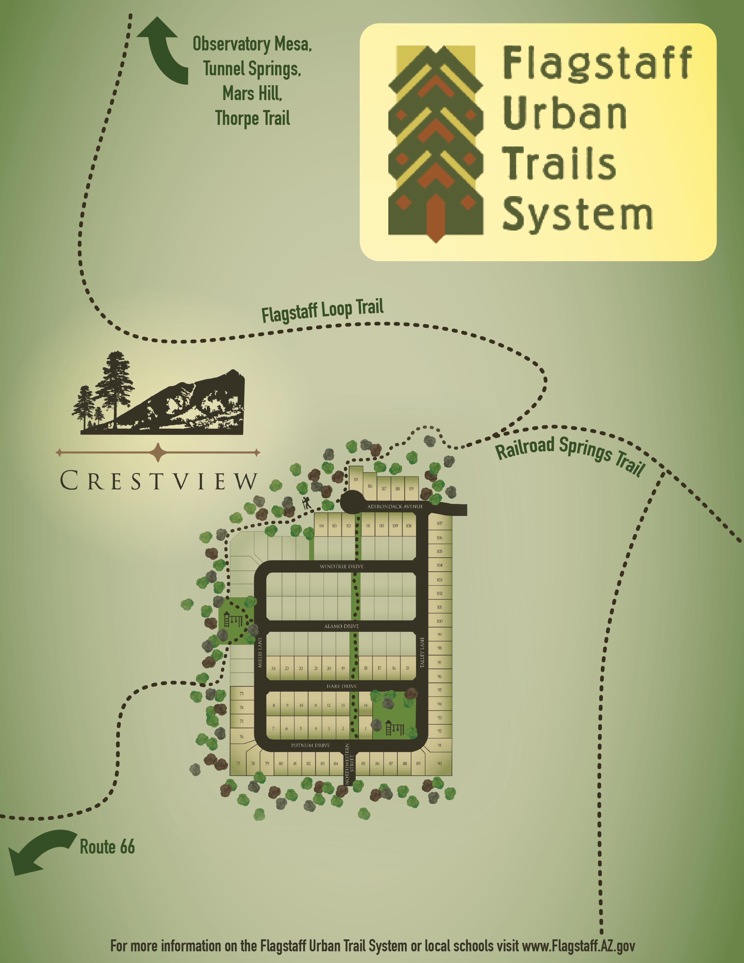 Crestview Map