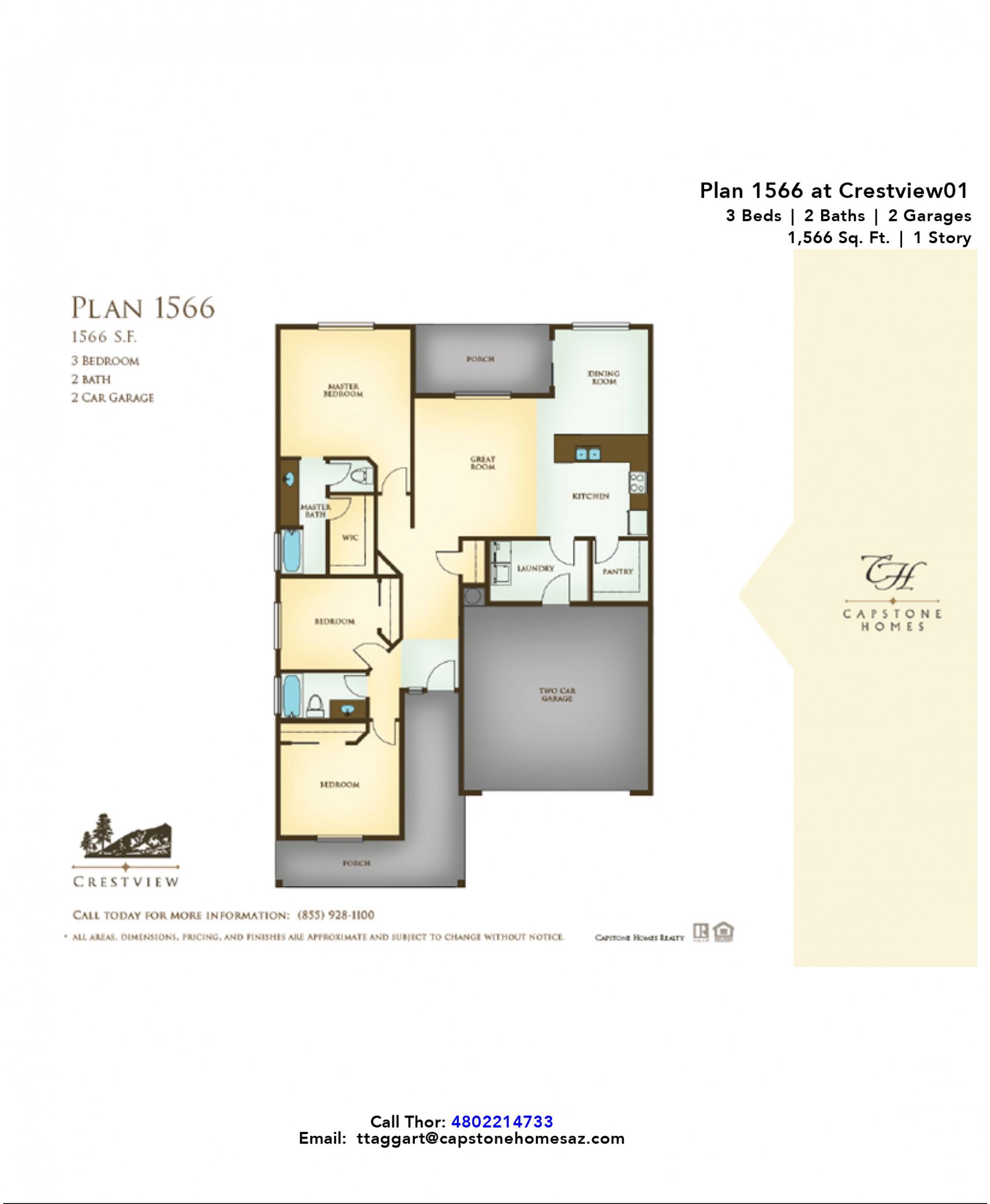 Crestview Plan 1566
